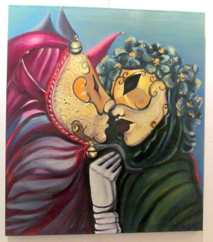 the kiss (2014) - Hebe Beatriz Alioto - Hebe B. Alioto