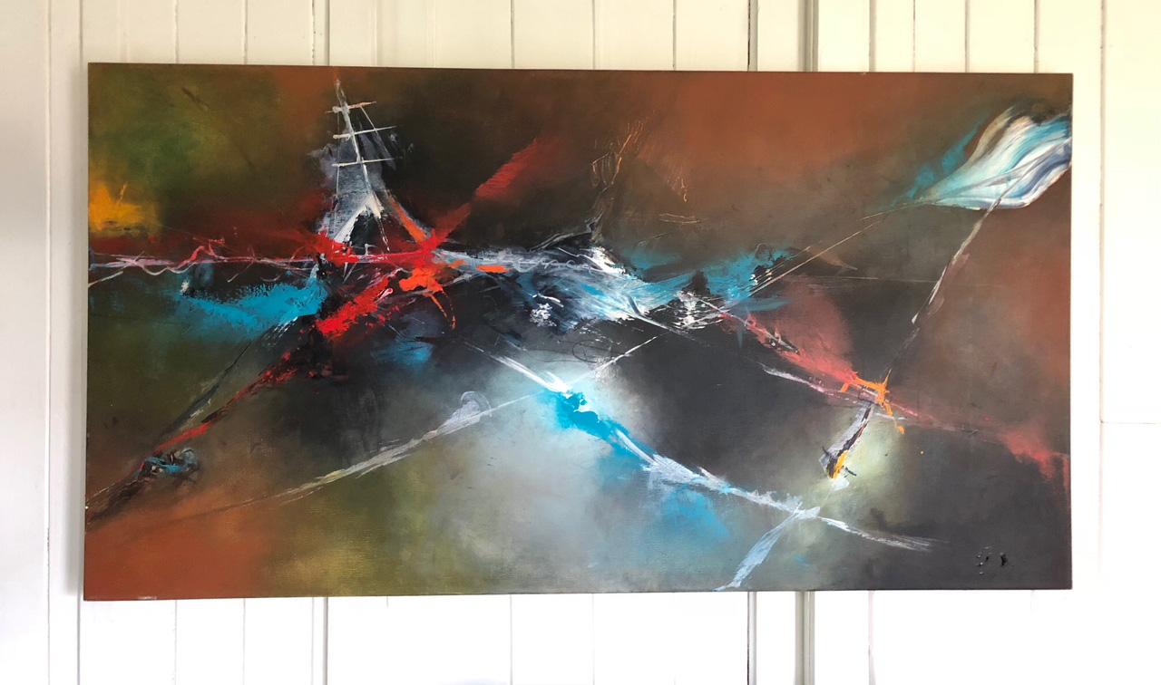 Declaración de un naufragio (2015) - Constanza Moreno Behr - Mundo a pincel