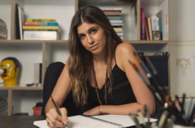 Olivia Marciano. Fotografía cortesía de la Marciano Art Foundation.