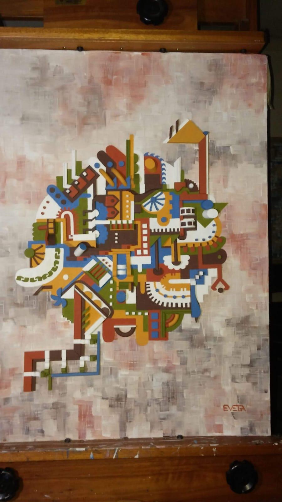 Mecanismos III (2020) - Edith Vega Mello - Evega