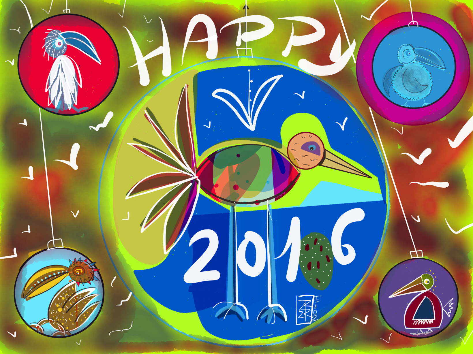 Happy 2016 (2015) - Ricardo Rocío Blanco