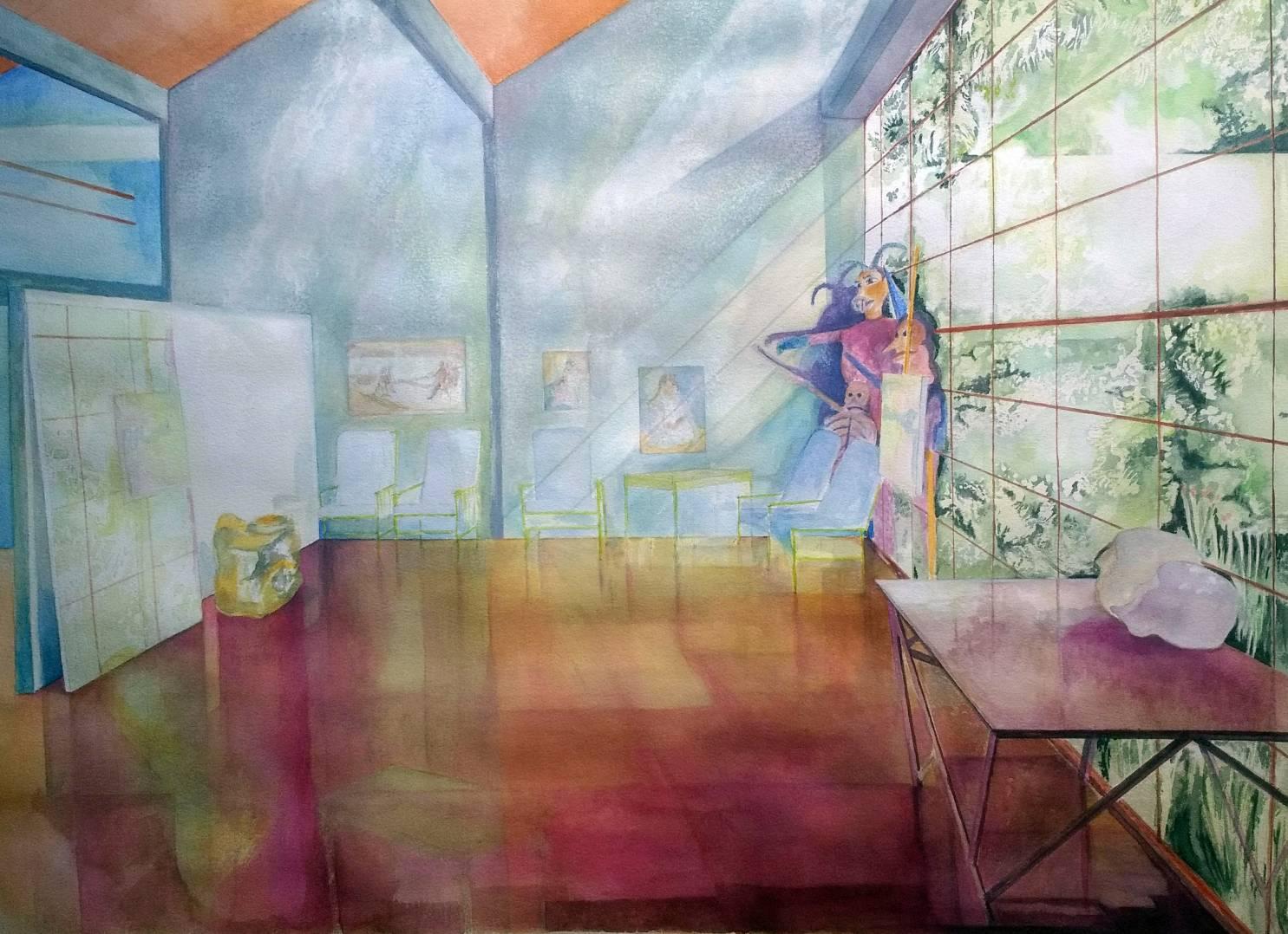 La casa de Diego Rivera (2019) - Mara Sánchez Llorens