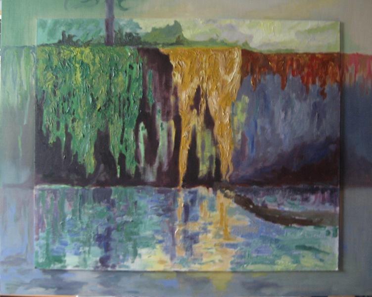 Hiedras reflejadas (2014) - Rocío Ahnert