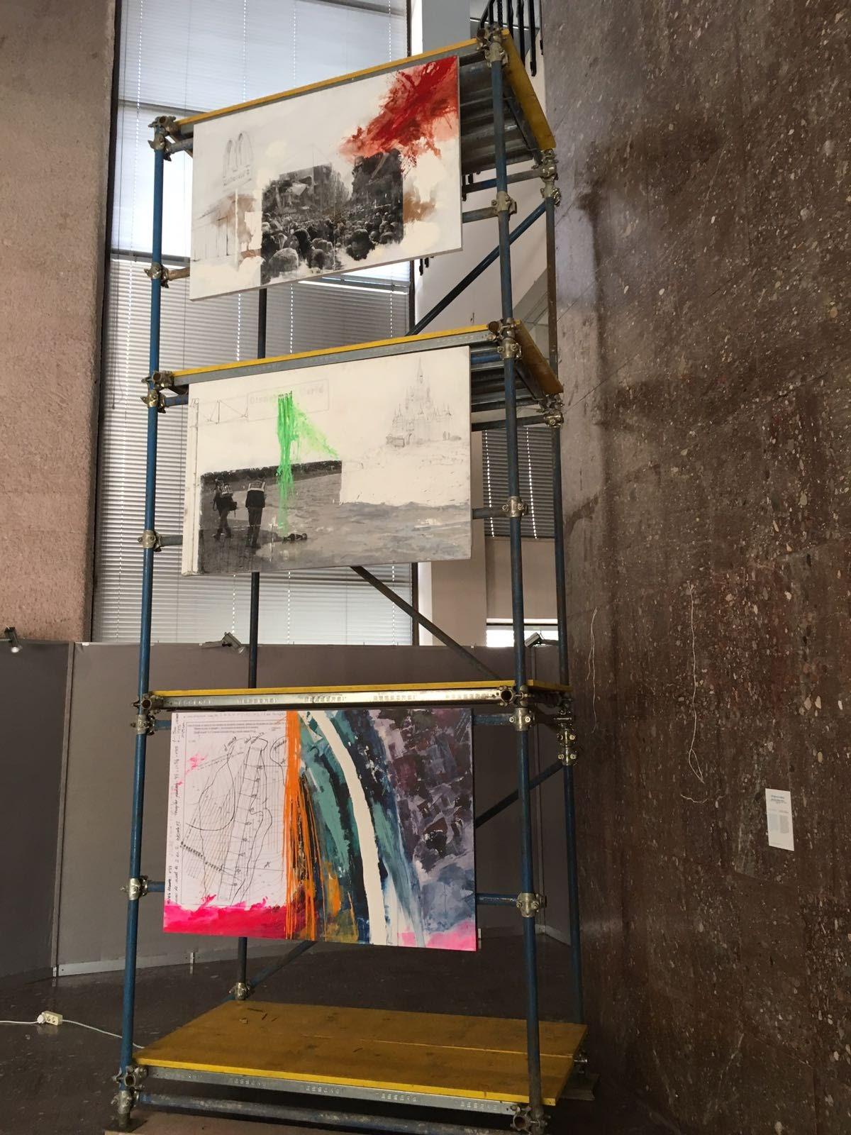 Instalación Bienal Albania (2017) - Cristina Aliste Miguel