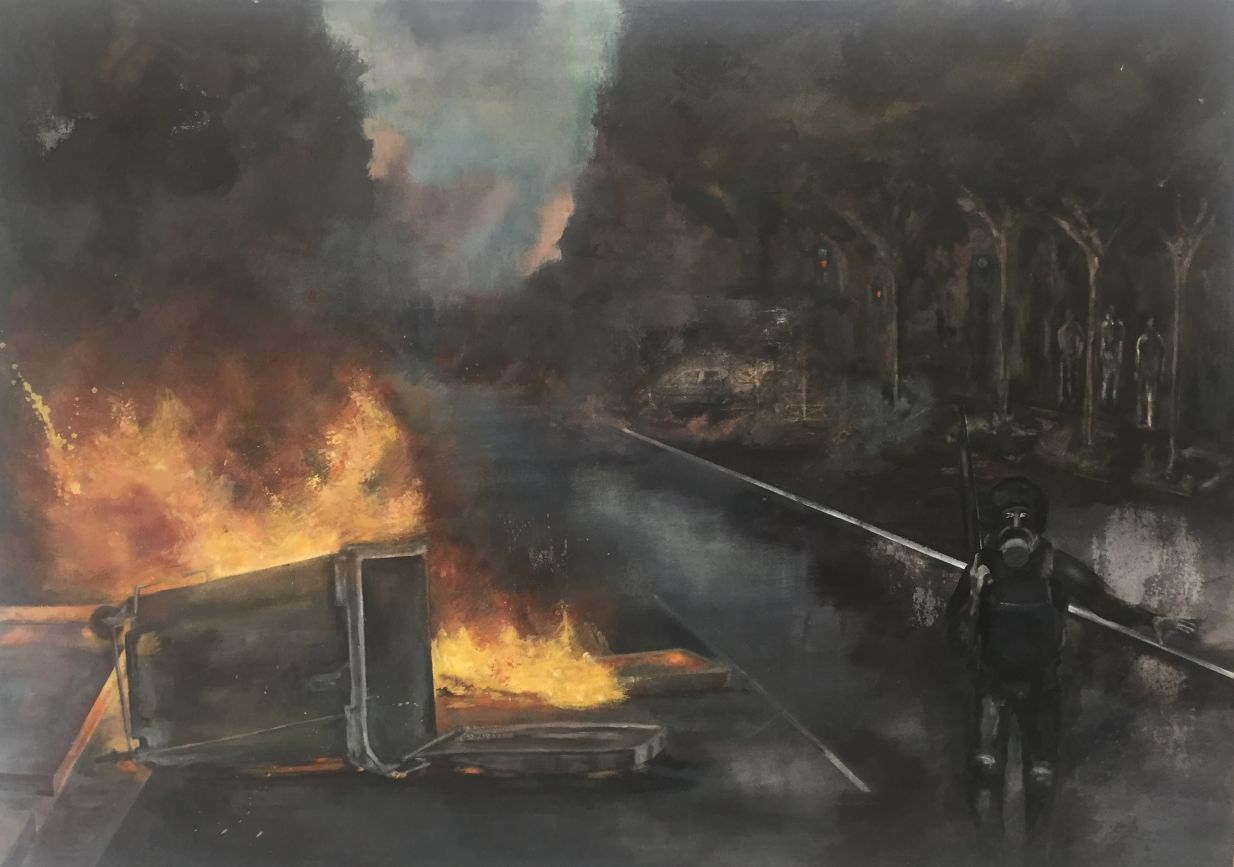 Serie Riot (2014) - Cristina Aliste Miguel