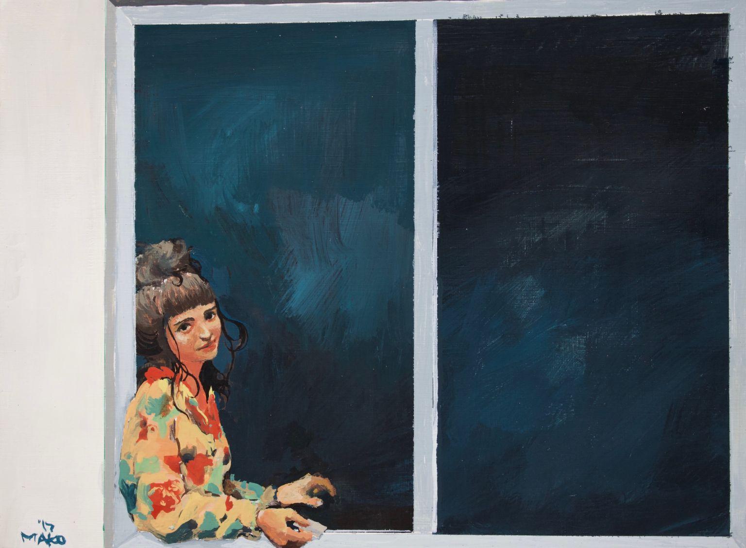 Chica en una ventana (2017) - Mako Moya