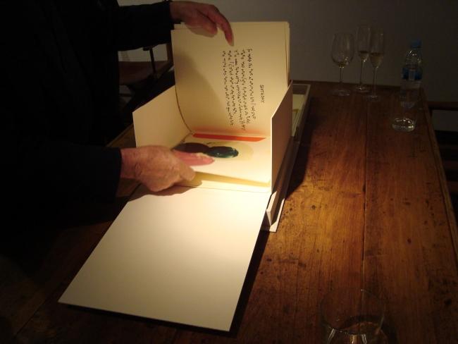 Seven Days, Frederic Amat/Mark Strand. Encuadernación artística y artesanal