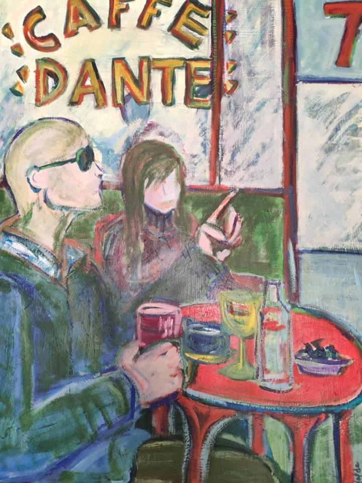 CAFE DANTE NY (2019) - Eva Garcia - Galda