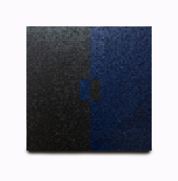 Azul Ultramar / Negro Humo I (2019) - Alfredo Gallegos Mena - Alfredo Gallegos Mena
