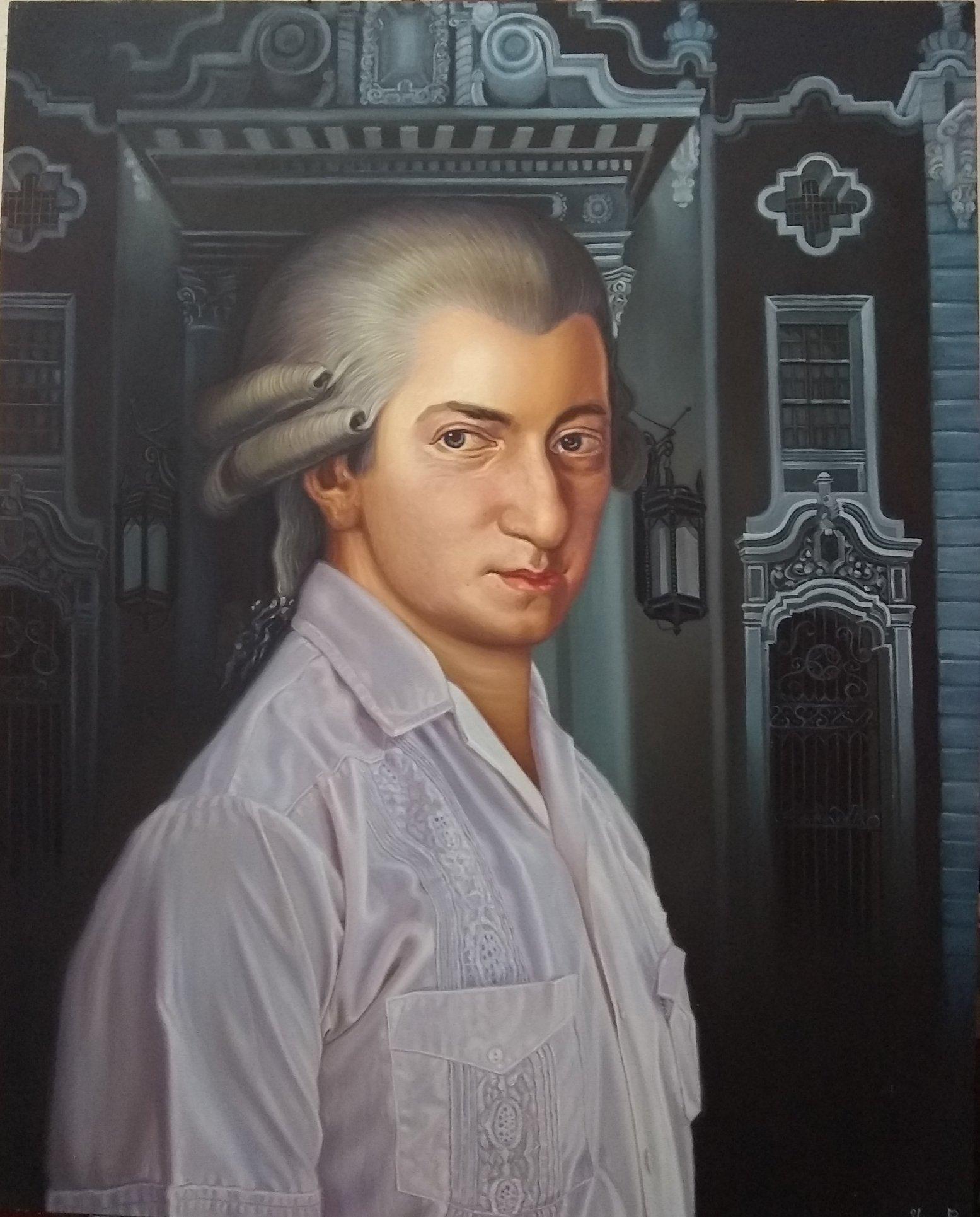 Mozart para Cuba (2017) - Yoandry Cáceres Rivero