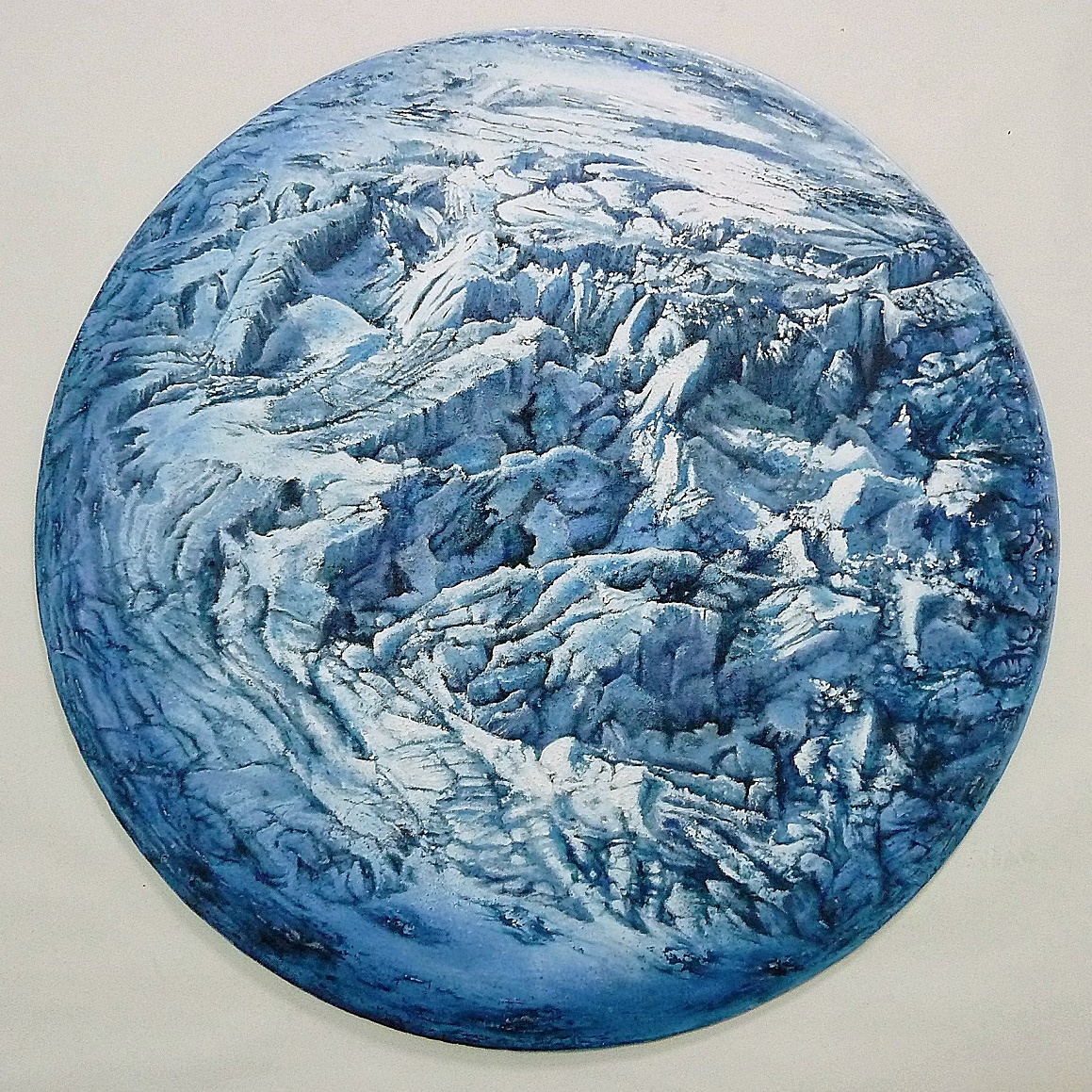 """Planeta glacial"" (2016) - Agustín Pontesta"