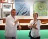 """Con Carlos Herrera en """"Camarote Madrid"""" en Leon."""