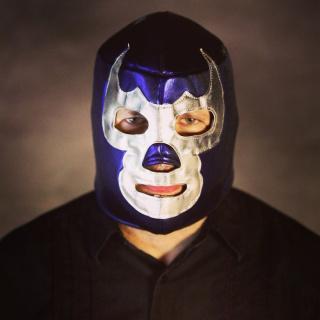 Santi as Blue Demon