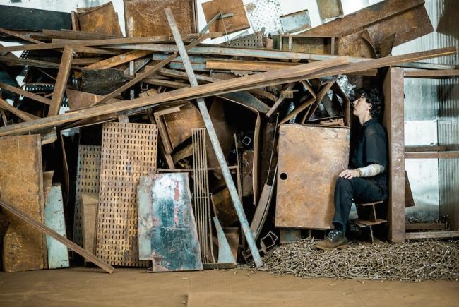 Crumbling body (2015, Paula Garcia). Cortesía de la artista