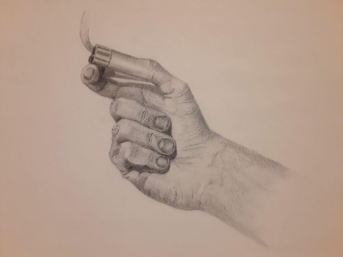 Mano de fumador