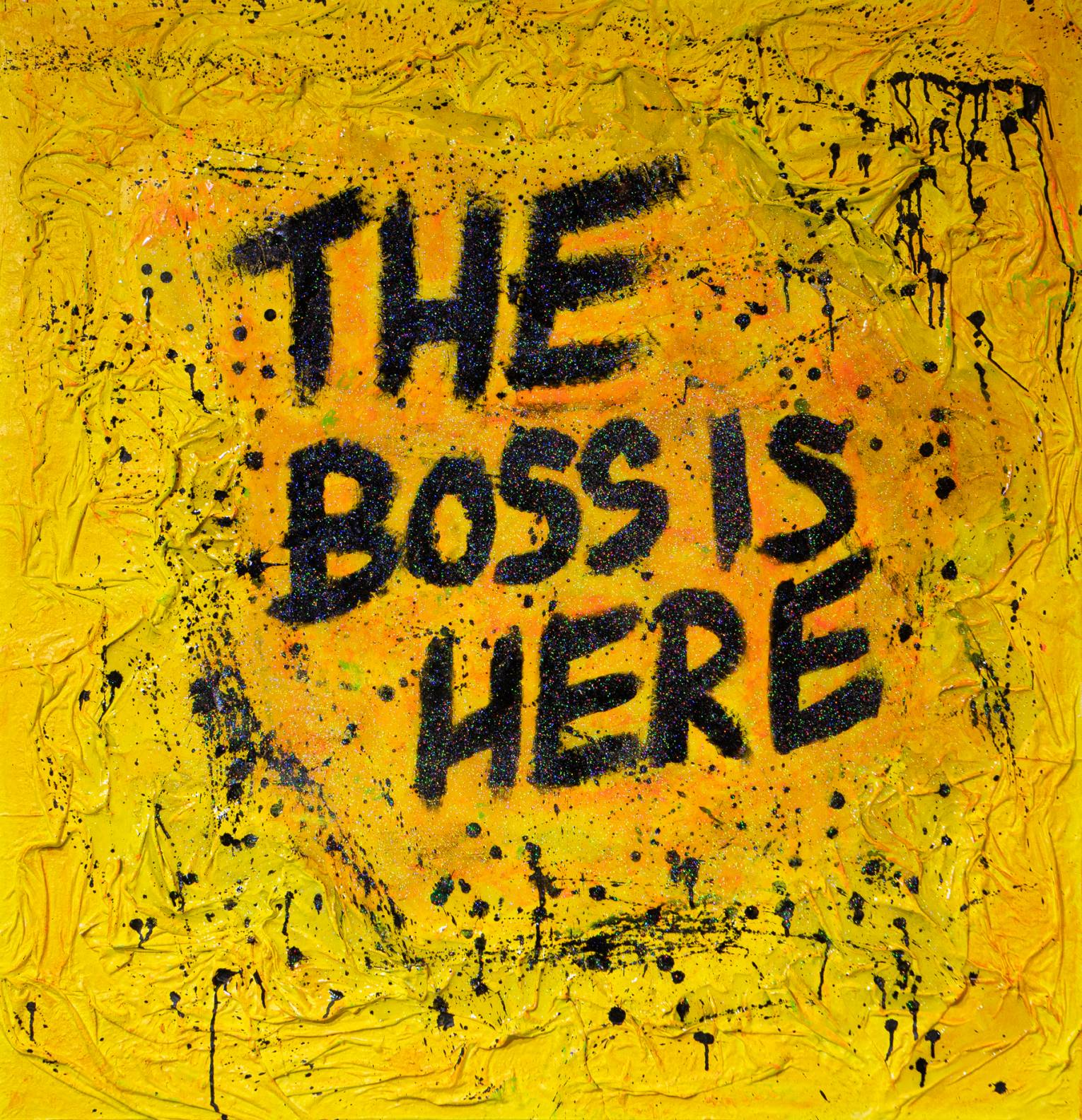 The boss is here (2019) - JoGis Art