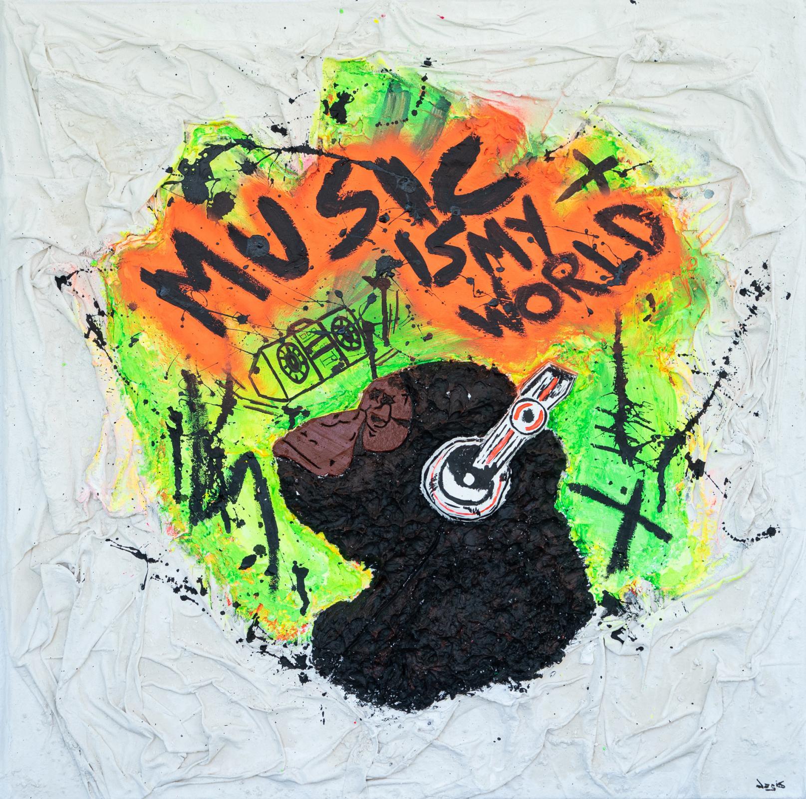 MUSIC IS MY WORLD (2019) - JoGis Art