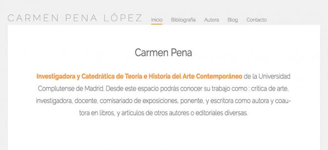 retrato Carmen Pena