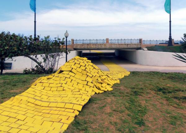"""Instalación """"Lemon Way"""" - Bienal Habana 2015"""