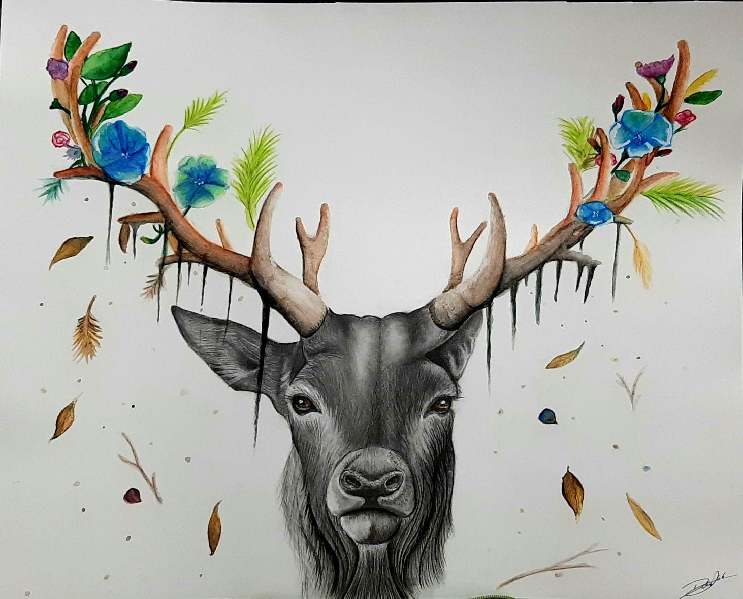 Mother nature (2019) - Dalia Quintana - Artdalia
