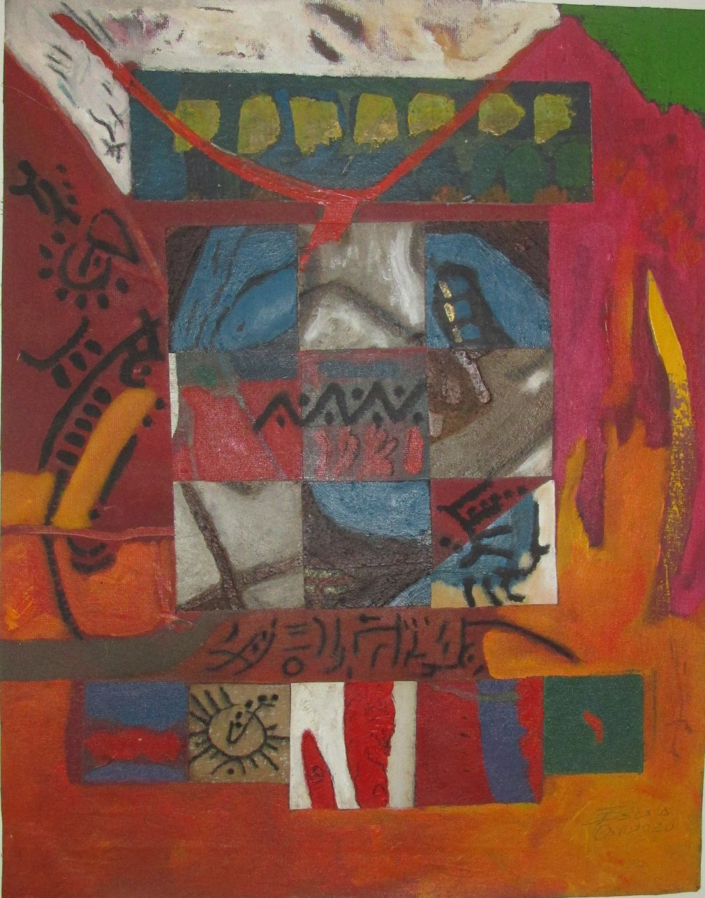 Grafias Ancestrales 3 (2019) - Giovanni Escala Cardozo