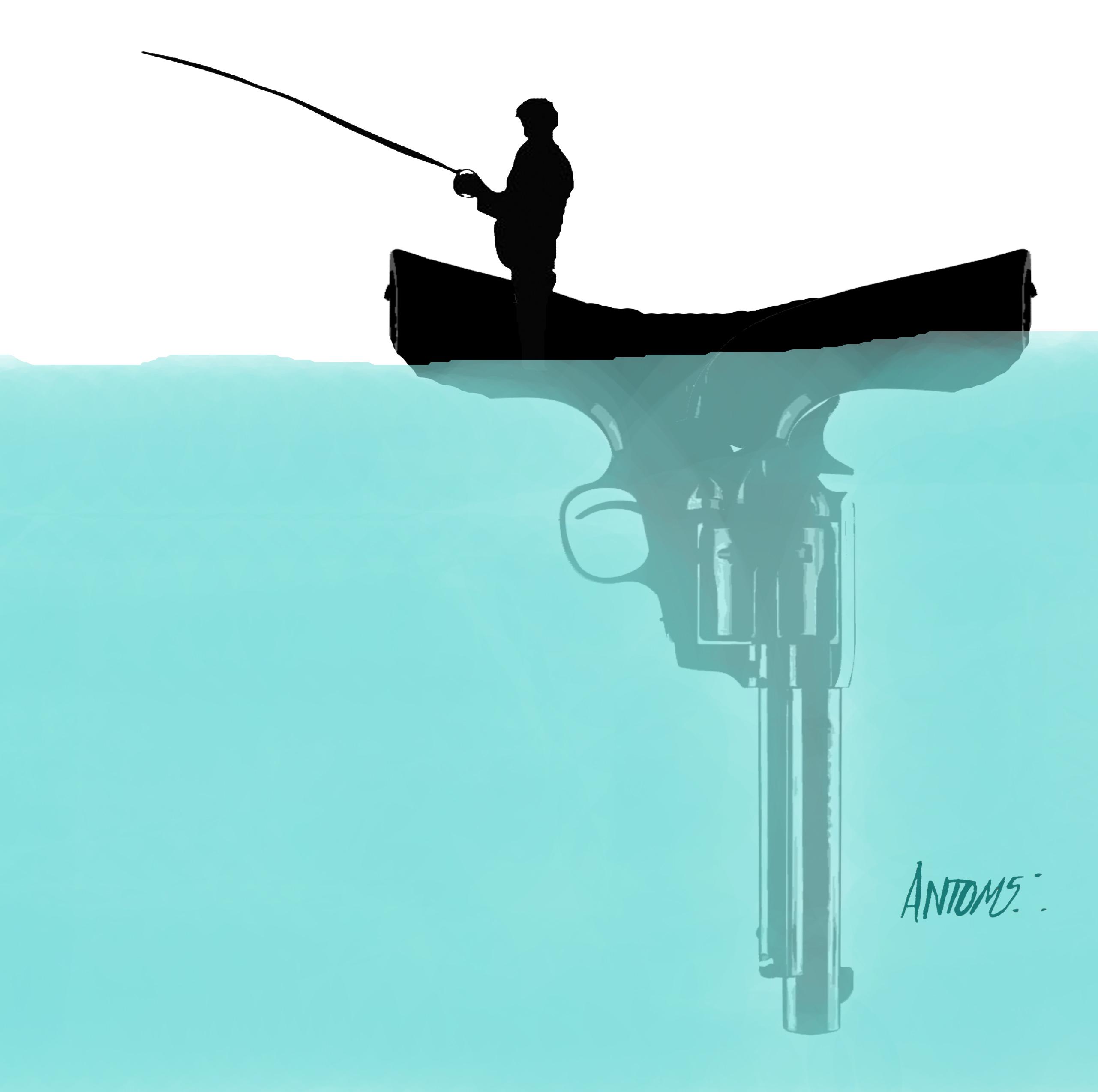 Caronte el pescador (2020) - Antonio Medina Segura - ANTOMS