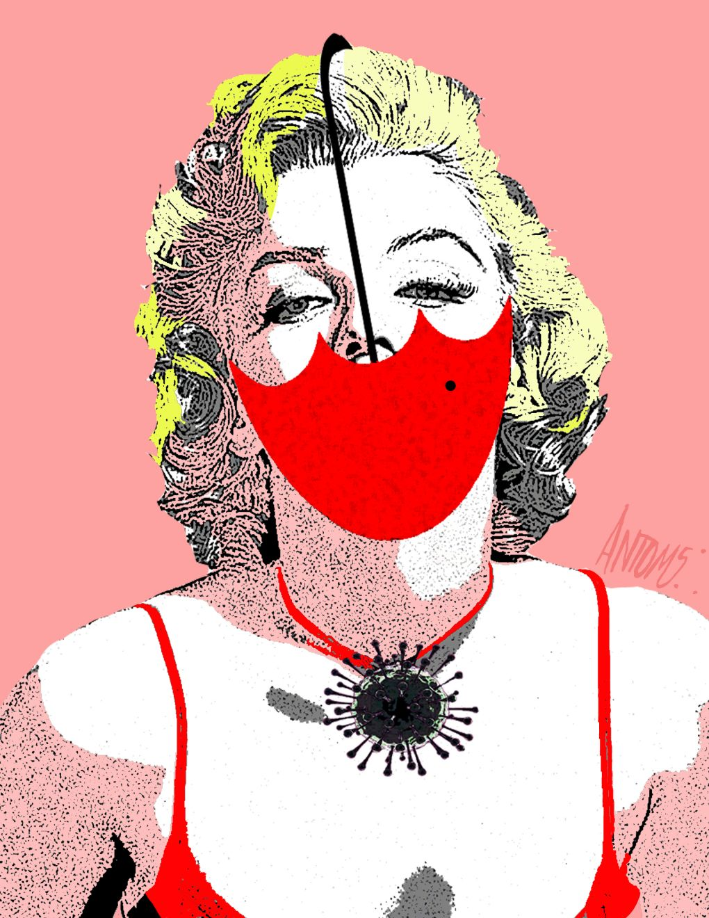 La sombrilla de Mary me protege (2020) - Antonio Medina Segura - ANTOMS