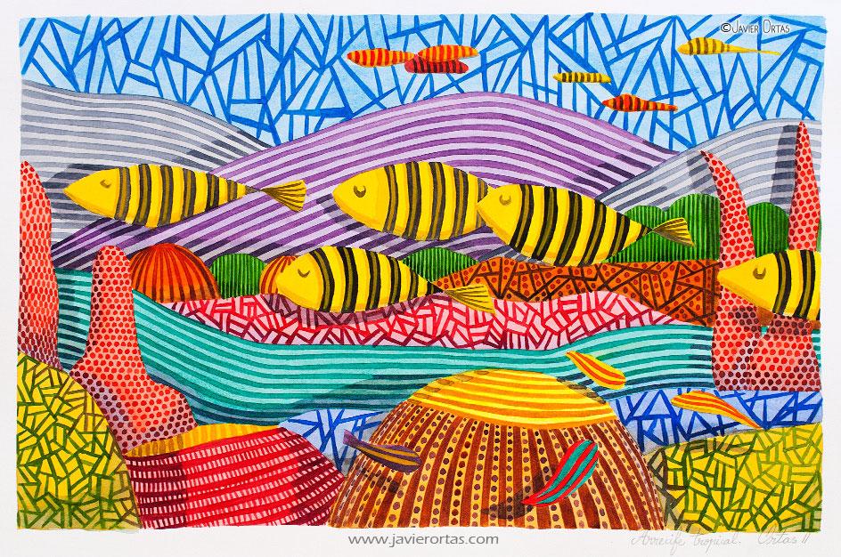 Arrecife tropical (2011) - Javier Ortas