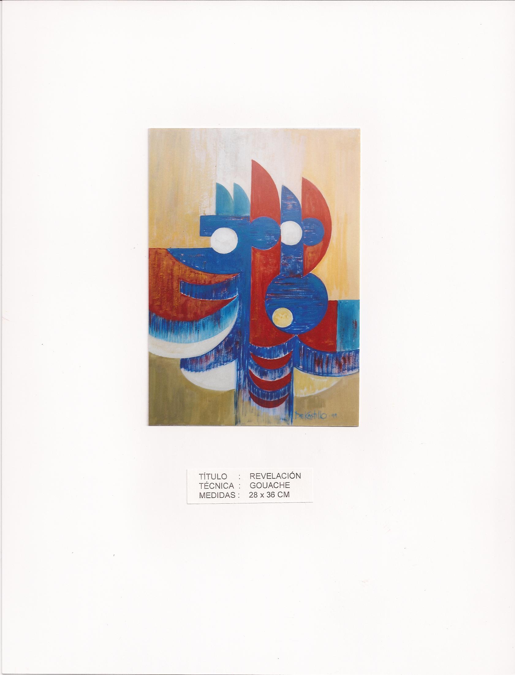 """""""Revelación (2000) - Francisco Del Castillo Lozano"""