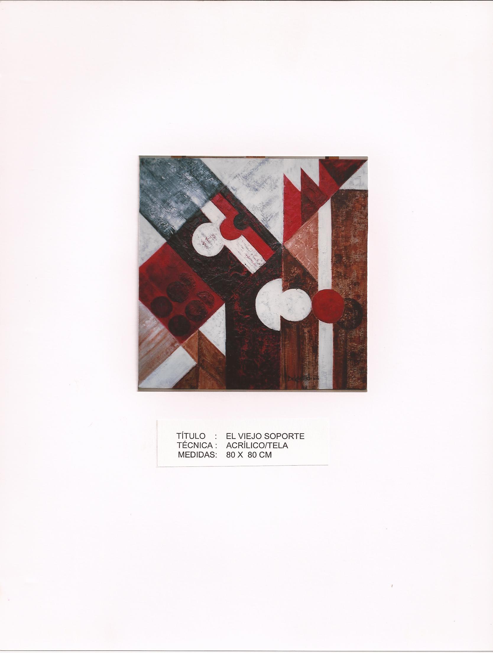 """""""El viejo soporte (2012) - Francisco Del Castillo Lozano"""