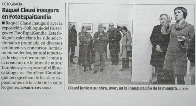 """""""Soliloquis del Paisatge"""" news"""