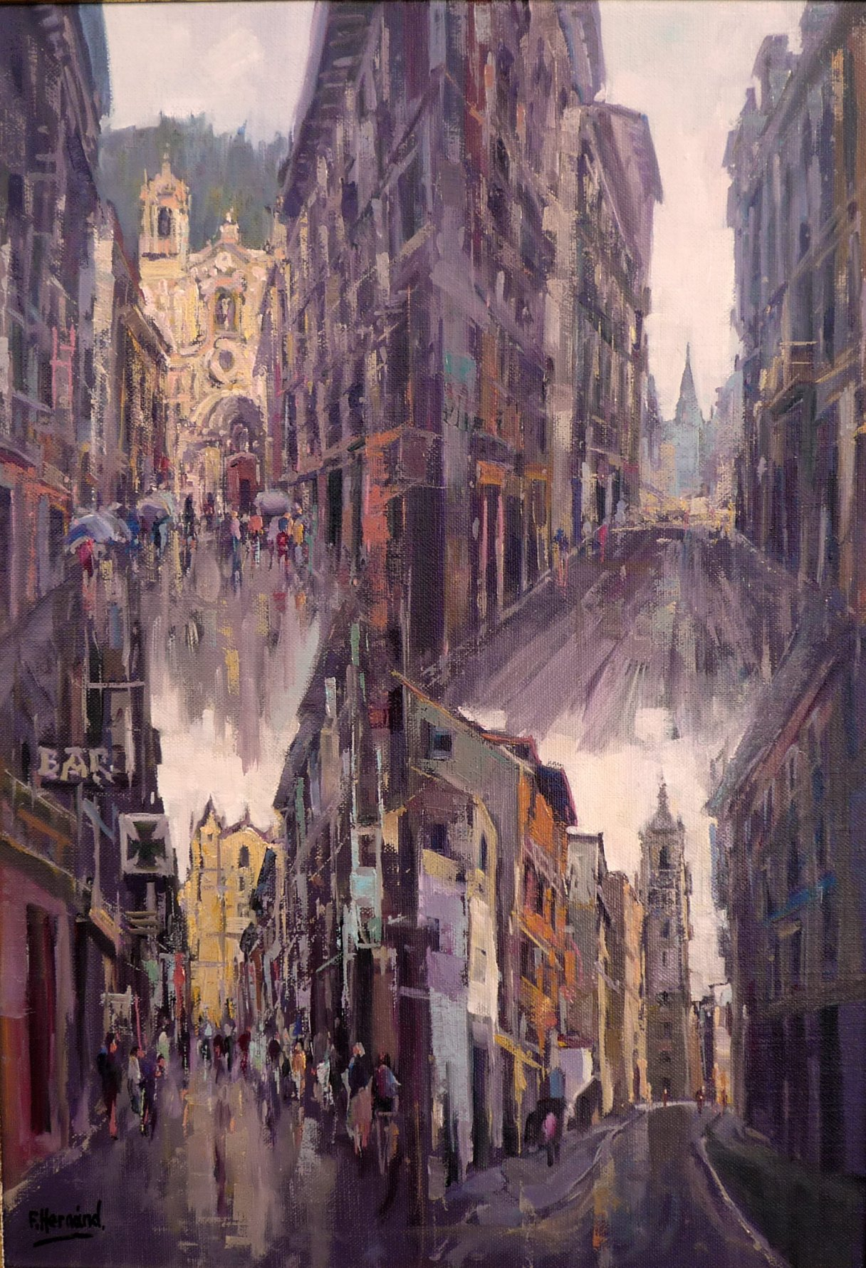 Calles de Donostia (2014) - Francisco Hernández Sánchez