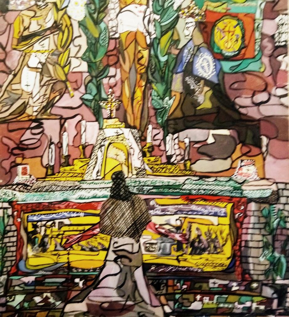 ALTAR MAYOR CATEDRAL DE CÓRDOBA (1963) - Jesus Blanco Cortina