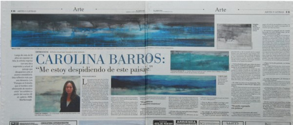 Publicacion Diario El Mercurio DIC 2012