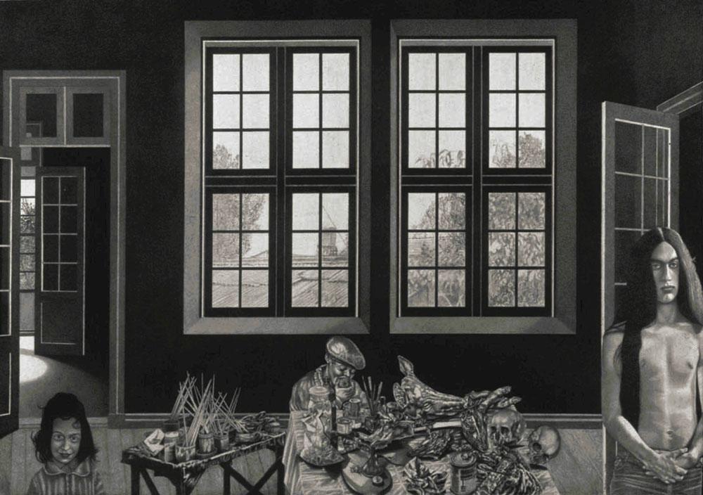 El taller del pintor cachorro (2000) - Tito Calderón