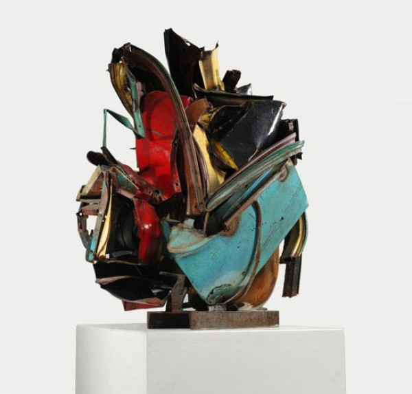 John Chamberlain: Choices. Cortesía del Guggenheim Nueva York