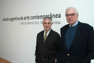 Alberto Elía y Mario Robirosa