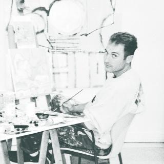 Xavi Ceerre en su estudio.