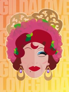 Retrato de Gilda Love