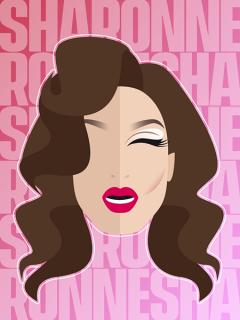 Retrato de Sharonne