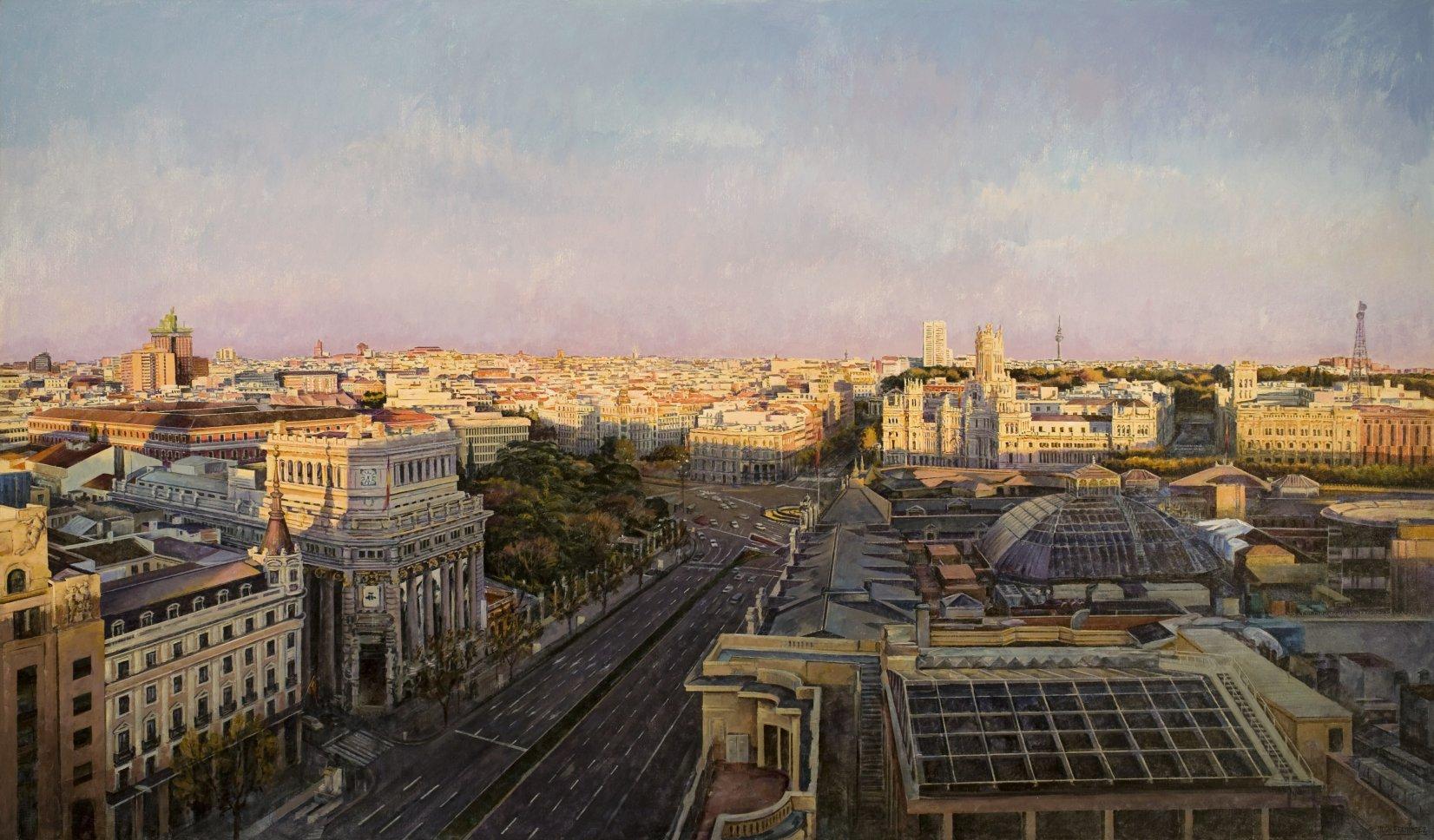Madrid desde el Círculo de Bellas Artes (2015) - Juan Fernández González