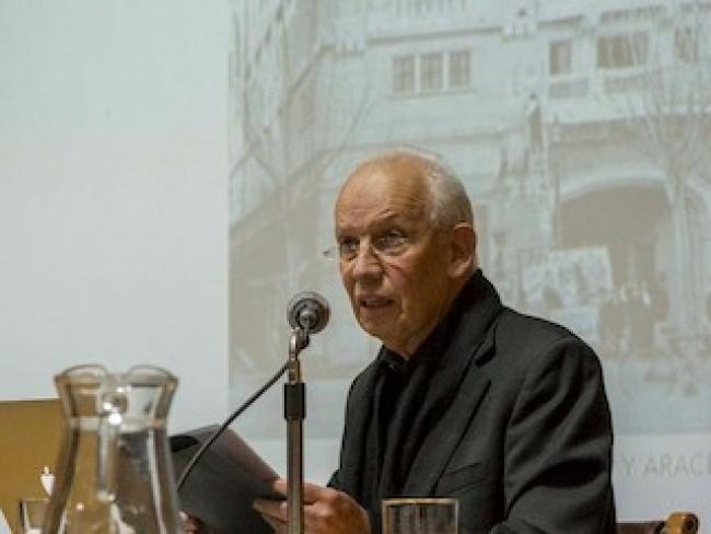 Fernando Pérez Oyarzún. Créditos Pontifica Universidad Católica de Chile.