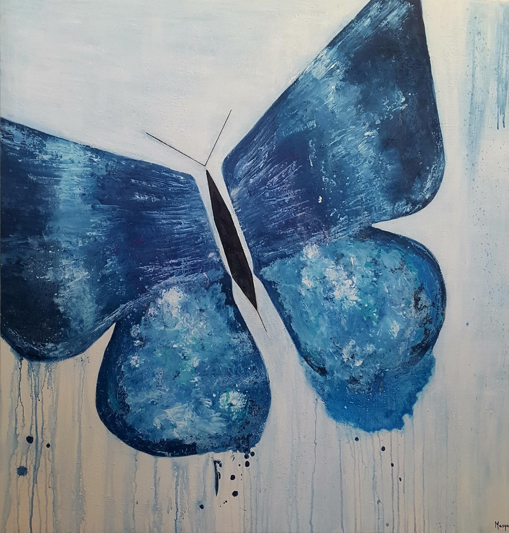 mariposa de luz (2020) - Mónica Gifre Solis - Masqali