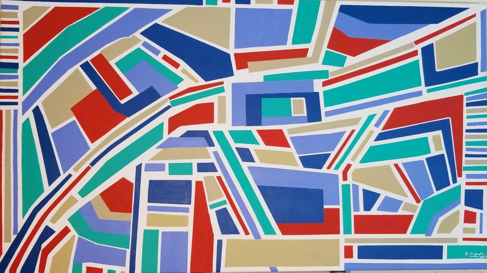 Rectangulos en Movimiento 1 (2017) - Carolina Liguori