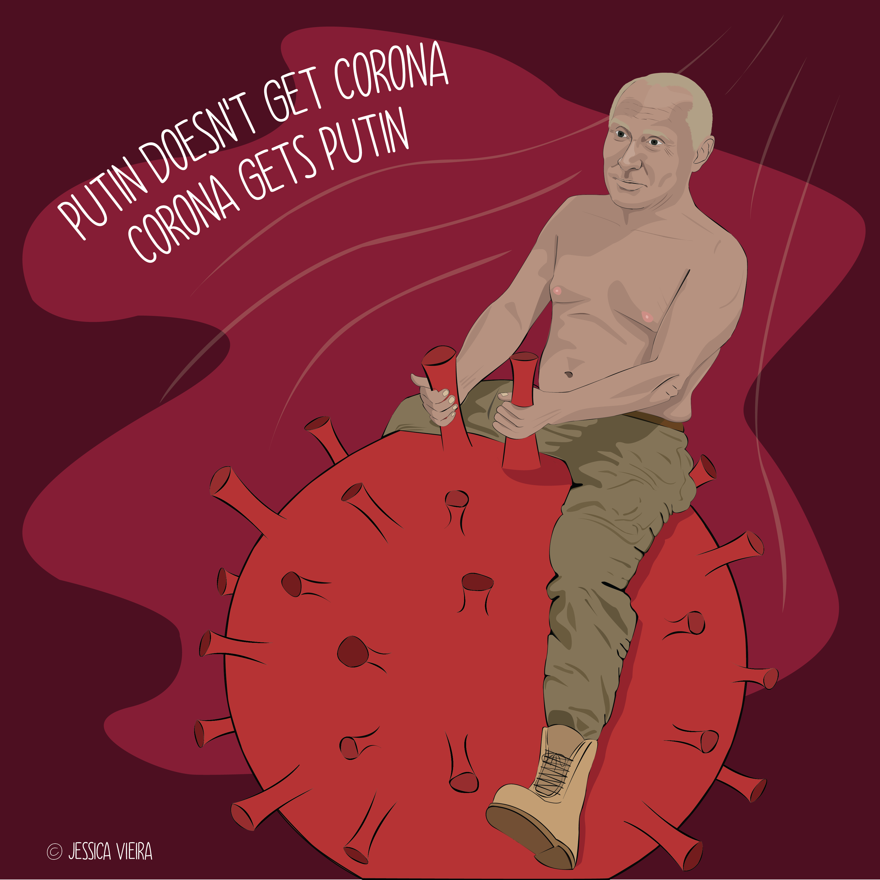 Putin to the rescue (2020) - Jessica Teixeira Vieira