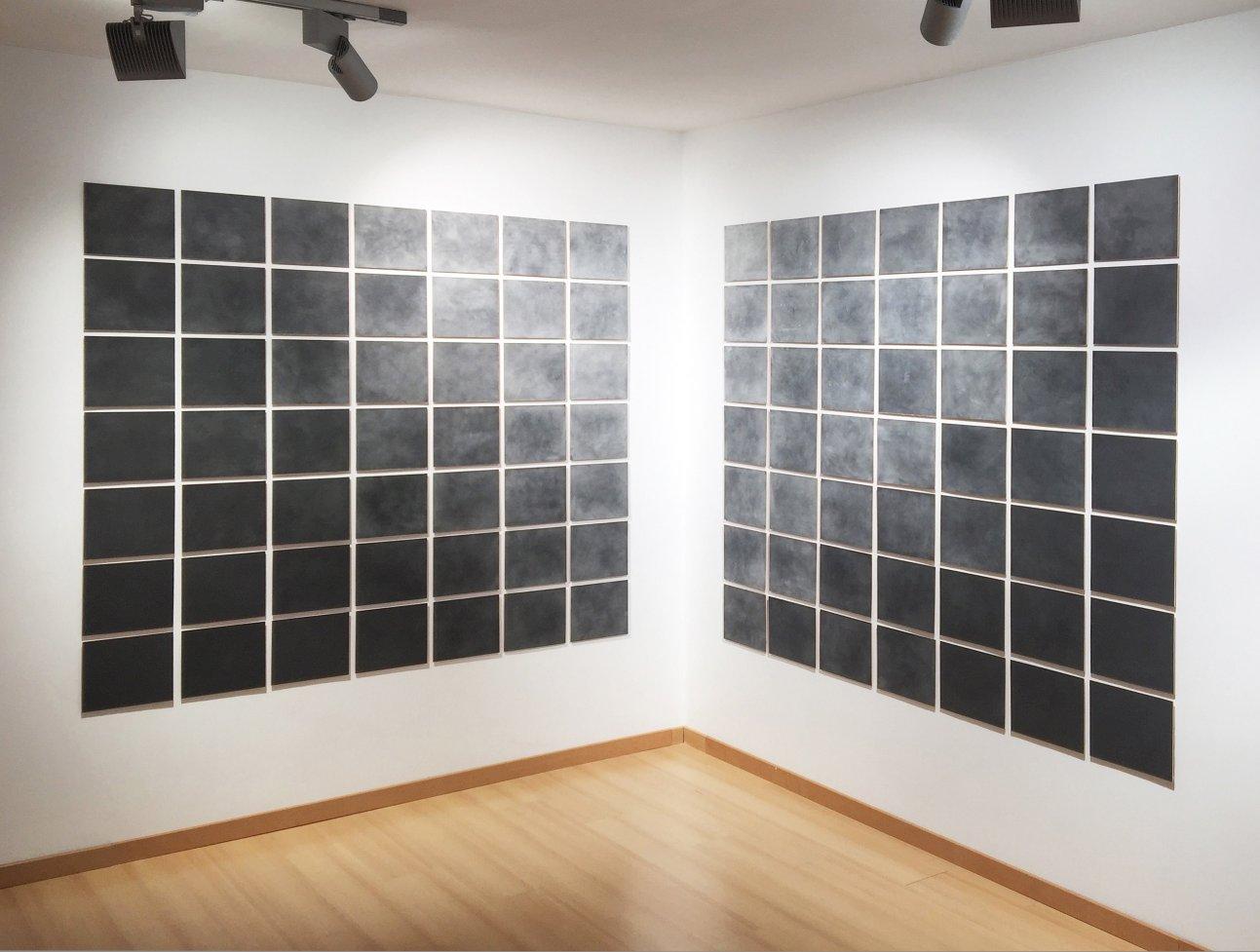 373' 25'' Prueba de Leucofobia: Lijar un lienzo en blanco [ 90º ] (2017) - Alberto Gil Cásedas
