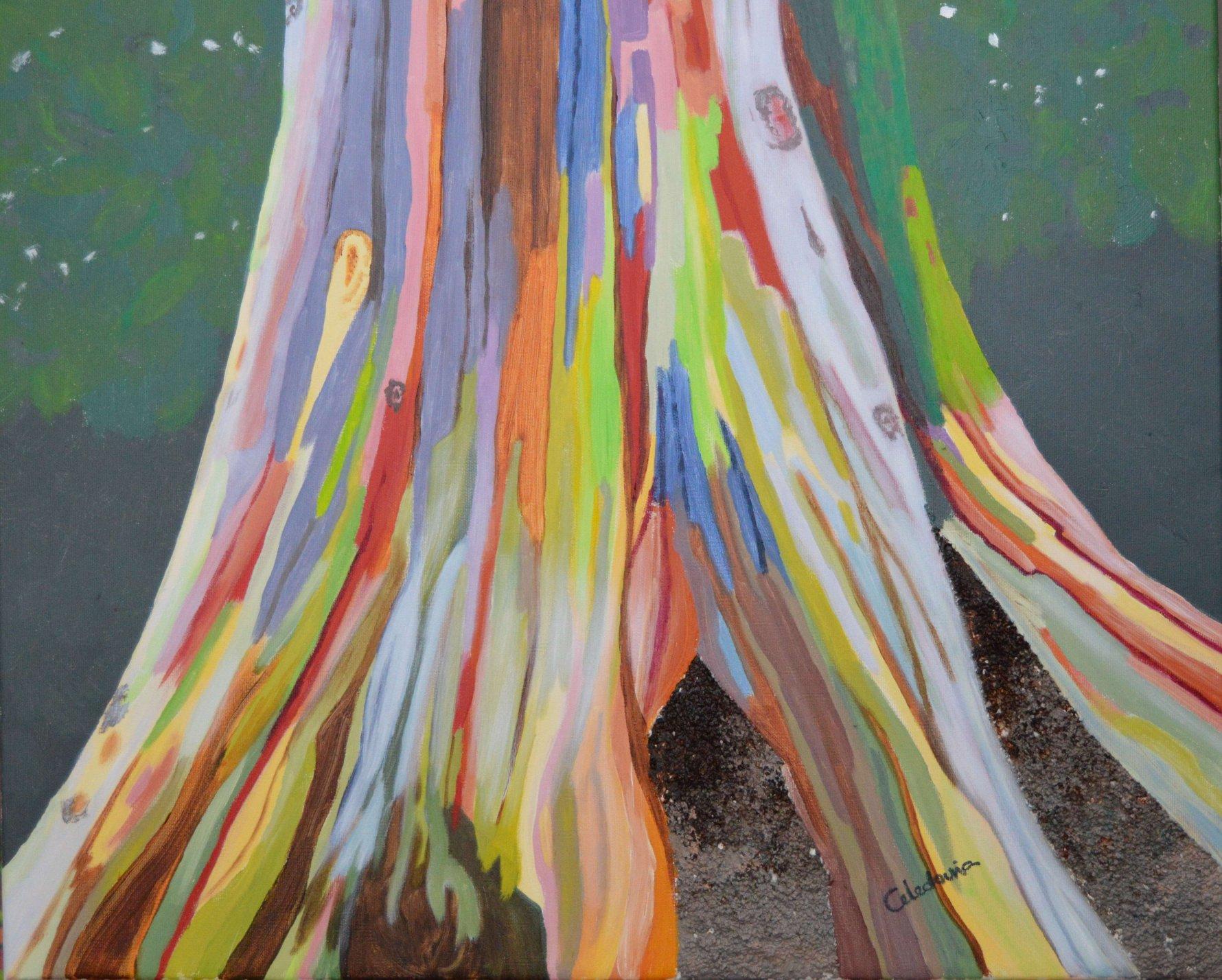 Tronco arcoiris (2017) - Celedonia Ramón Muro