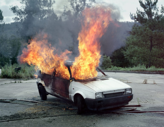 Still Life No IV. Car on fire, 2010.