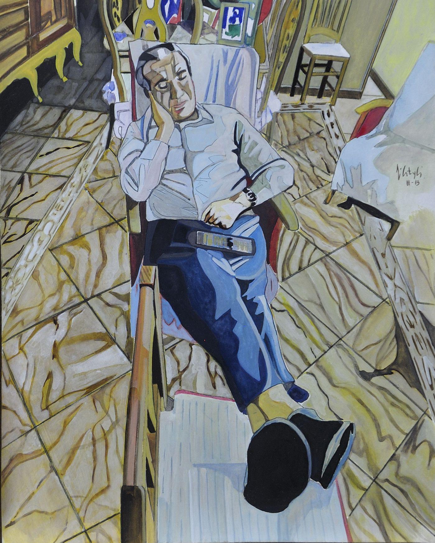Personaje sentado (2012) - Pepe Carretero