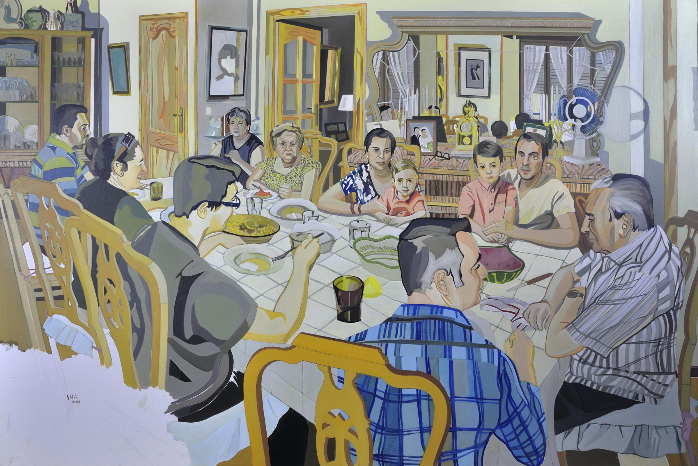 el almuerzo (2015) - Pepe Carretero